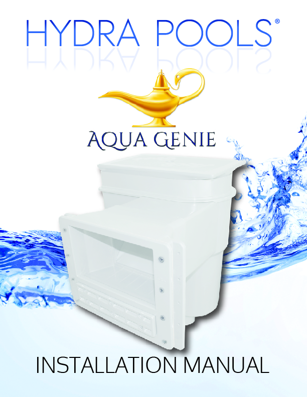 Hydra Aqua Genie Installation Manual