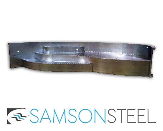 Samson Steel Pool Step Gallery
