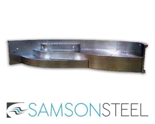 Samson Steel Pool Step Gallery